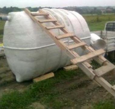 Rezervor (bazin) apa 5000 litri de la Sc Tehnomodern Srl