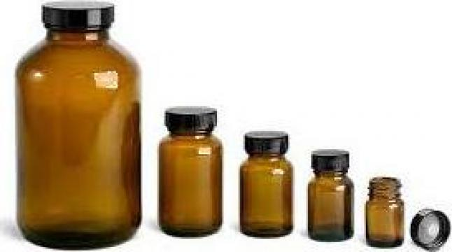 Sticla 1000 ml brun 12/bax de la Plastic Prod Srl