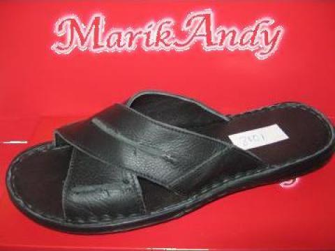Papuci barbati piele 8101