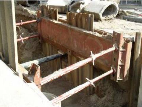 Blindaje santuri, sisteme blindare pereti excavatii