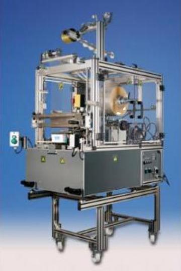 Masini semiautomate de ambalat cu celofan
