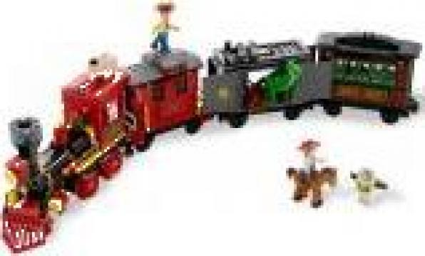 Joc Lego Urmarirea western a trenului - L7597 de la Clever Toys Srl