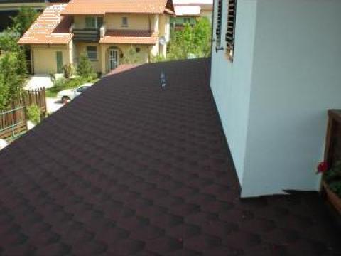 Sindrila bituminoasa mozaic rosu/negru de la Hexi Market Srl