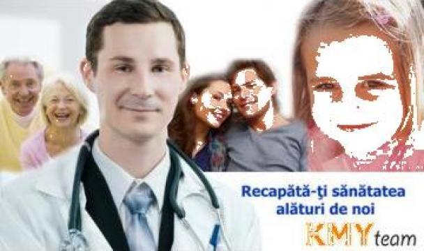 Masaj, kinetoterapie, fizioterapie - Clinica de recuperare de la PFA Emilian Serban