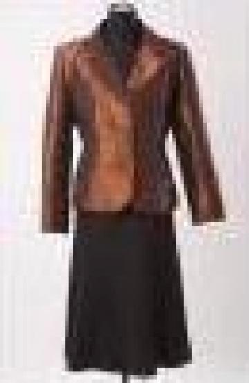 Costum dama sacou fusta si pantalon de la Johnny Srl.
