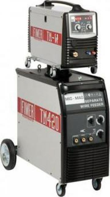 Aparat sudura Mig Mag TM 420 W de la Sudofim Serv Srl
