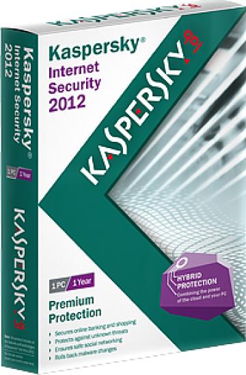Antivirus Kaspersky Internet Security de la Magazin Aniuk Srl