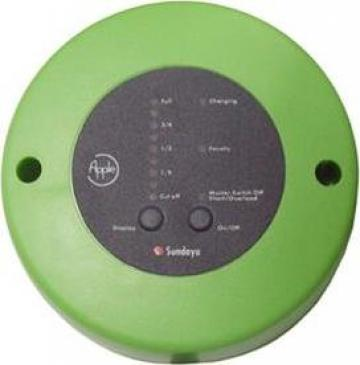 Regulator solar 10A de la Ecovolt