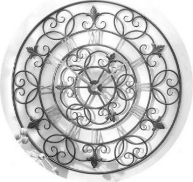 Ceasuri de perete din fier forjat de la Forjart Srl