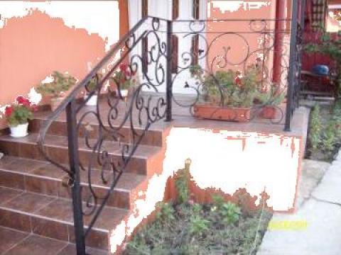 Balustrade scari exterior fier forjat de la Durinox Srl