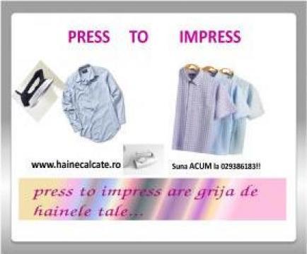 Servicii de croitorie de la Press To Impress
