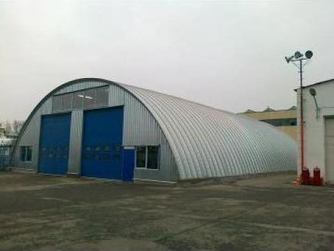 Hala autoportanta - hangar de utilaje + atelier reparatii