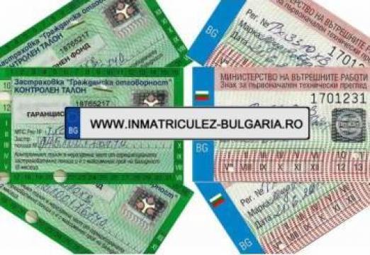 Intermedieri acte auto si procuri pentru Bulgaria
