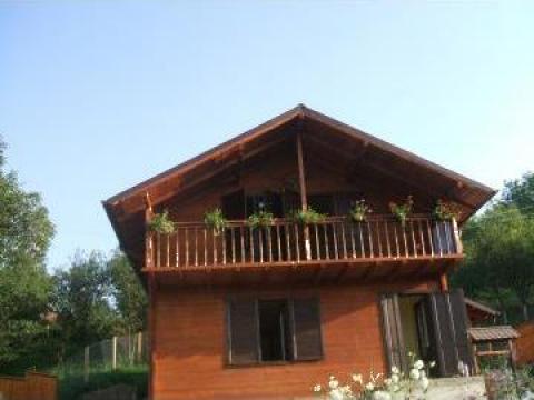 Cabane, case pe structura, foisoare din lemn de la Wood Construct Srl