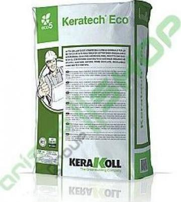 Sapa exterior autonivelanta Kerakoll - Keratech Eco