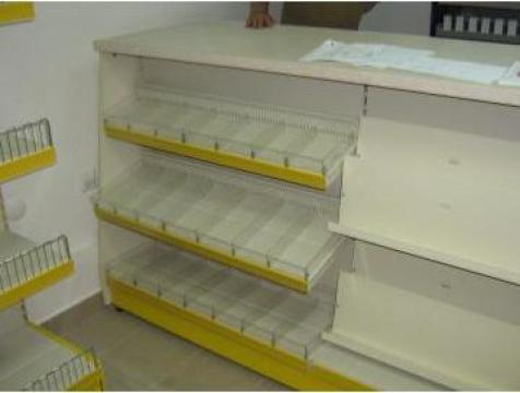 Rafturi magazin presa de la Marlex Impex Srl