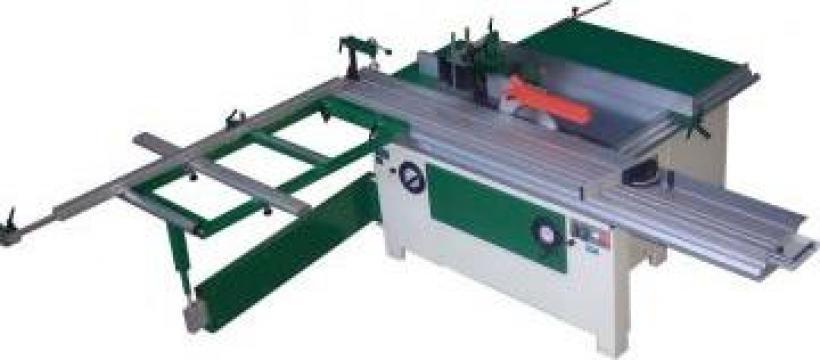 Utilaj combinat pentru frezare lemn si formatizare PAL de la Cod 5A Prodcomserv Srl
