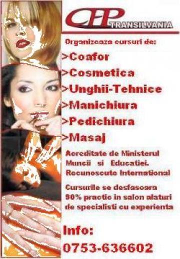 Cursuri de manichiura-pedichiura si unghii tehnice de la Transilvania Centru De Formare Profesionala Srl