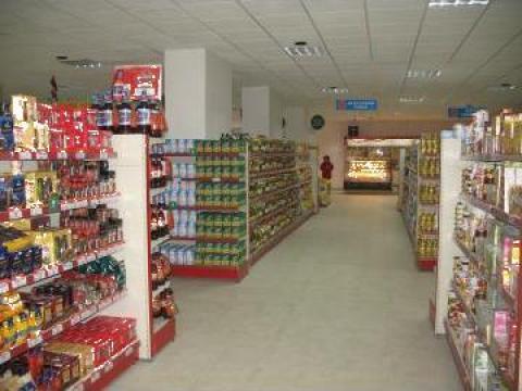 Rafturi supermarket Cluj