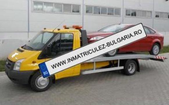 Inmatriculari auto Bulgaria de la Asigurari Bulgaria