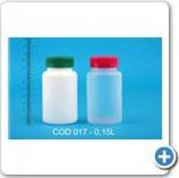 Flacon plastic la 0,15 l cu dop FI 38 de la Vanmar Impex Srl