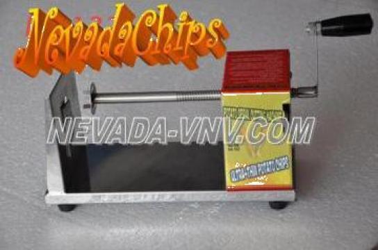 Masina cartofi spiralati NevadaChips de la Nevada Vnv Srl