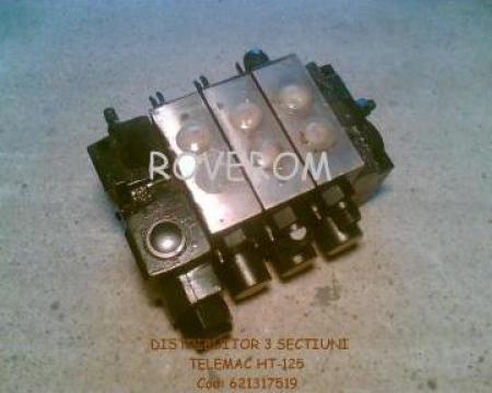 Distribuitor hidraulic 3 sectiuni Telemac HT-125