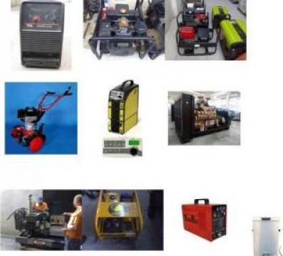 Reparatii generatoare curent, bobinari - rebobinari