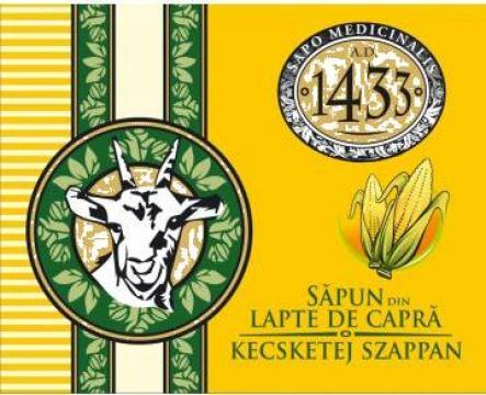 Sapun din lapte de capra cu faina de malai 1433 de la Inovum Srl