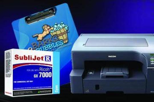 Imprimanta sublimare Ricoh de la Sublirom Co. SRL