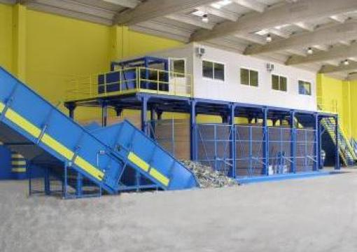 Statii de sortare deseuri de la Sc Schuster Recycling Technology Srl