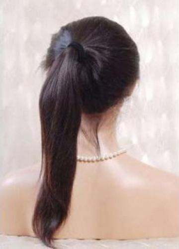 Peruca full lace Wig #1b 45 cm de la Natural Boutique