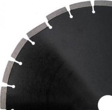 Disc diamantat diametru 350mm nefolosit de la Sentia Srl