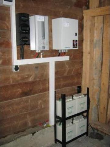 Sisteme UPS pentru centrale pe lemne de la Ecovolt
