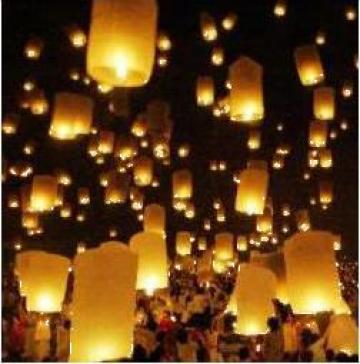 Lampioane zburatoare, Lantern Sky Tg-Mures de la Karte Europa Trans