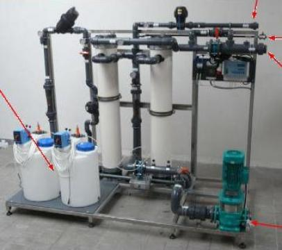 Instalatie de ultrafiltrare a apei 10 m3/h de la Tomas Prodimpex Srl.