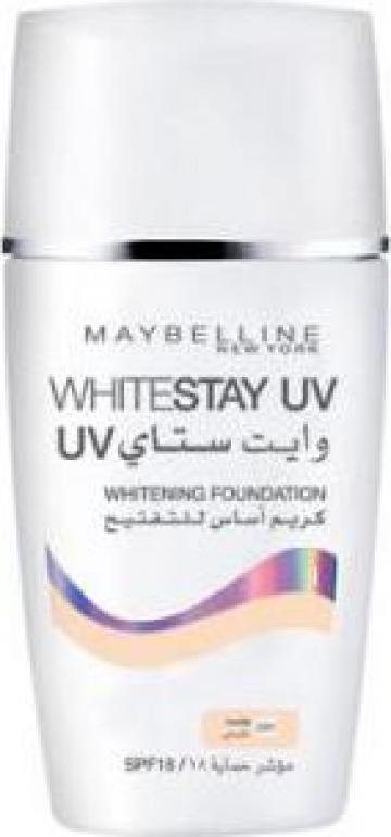 Fond de ten cu efect de albire Maybelline Whitestay