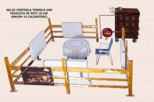 Centrala termica din teracota pe roti 35 kv de la Fancris Srl