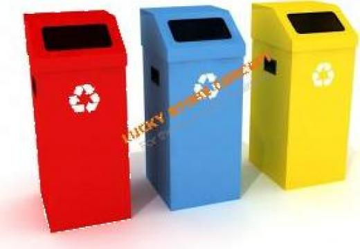 Cosuri depozitare selectiva deseuri gunoi