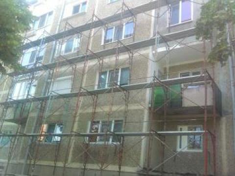 Izolatii termosistem blocuri de la Sc. Tonadi Construct Srl.