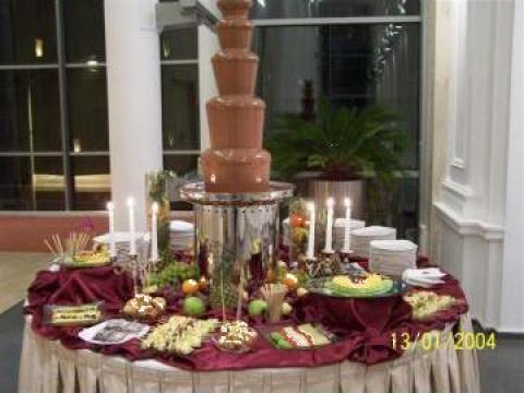 Fantana de ciocolata de la Eva Events
