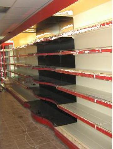 Rafturi metalice supermarket