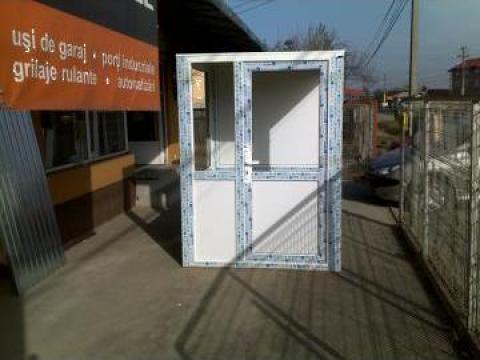 Cabina paza de la Ideal Termo Construct