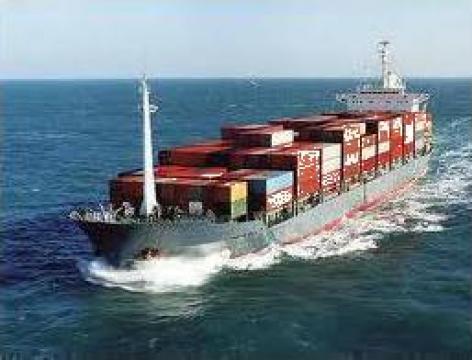 Import marfa in regim de grupaj China de la Green Marine Logistics Srl
