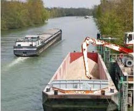 Transport fluvial marfuri vrac de la Green Marine Logistics Srl