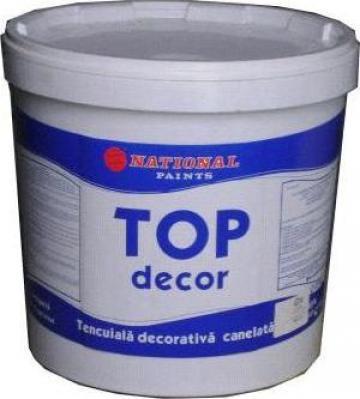 Tencuiala decorativa de exterior canelata Top Decor de la National Paints Factories Company Sa