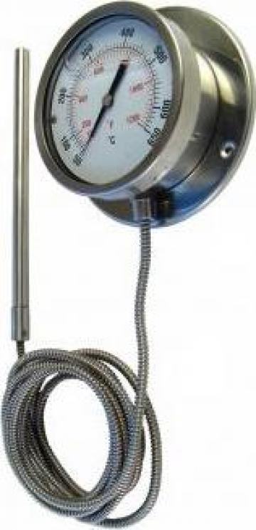 Termometre manometrice inox cu capilar de la Prima Srl