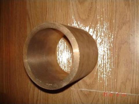 Bucsa bronz echivalent grafitat d 95xD115xL100 mm de la Baza Tehnica Alfa Srl