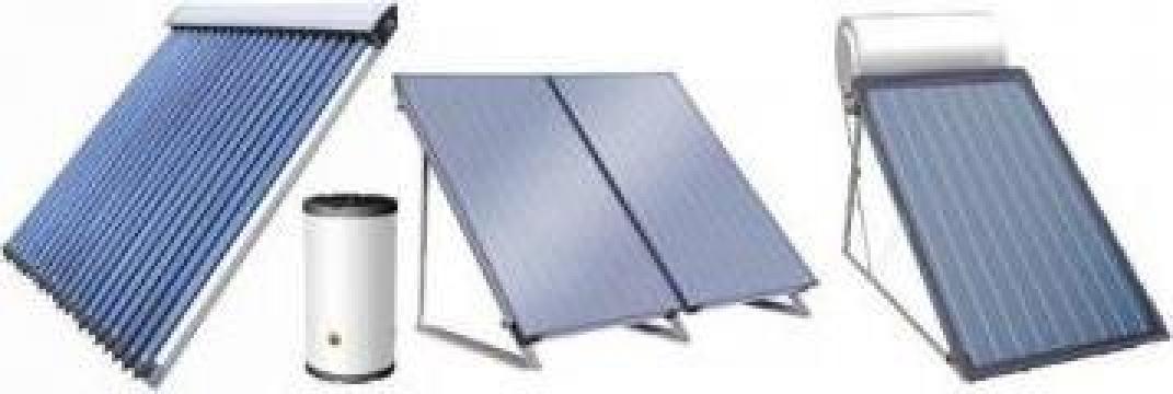 Sisteme complete cu tuburi solare vidate, fara boiler