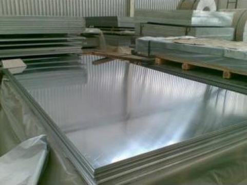 Tabla aluminiu 1 x1500x3000 mm, Al 99.5%, ENAW 1050 H24 de la MRG Stainless Group Srl